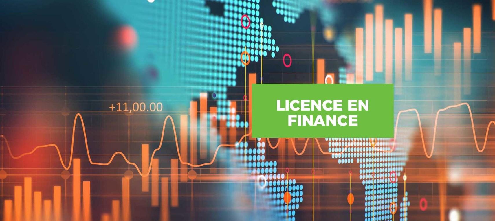 Licence en Finance