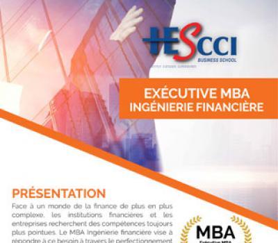 Exécutive MBA Ingénierie Financière